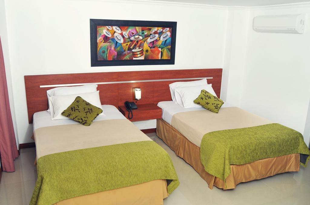Hotel Imperial Cali Habitación Twin Deluxe